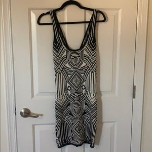 Great black and white dress